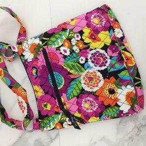 Vera Bradley Bags - NWOT Vera Bradley cross multicolored floral cloth